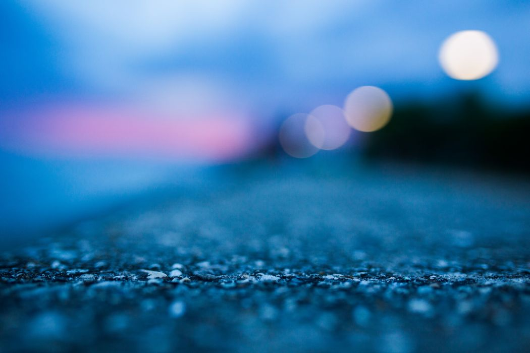 abstract blue concrete ground macro wallpaper