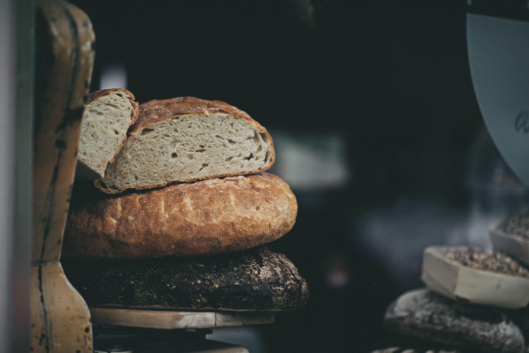 bread food macro pastry wheat wallpaper