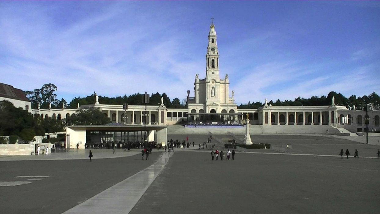 catedral lourdes portugal wallpaper