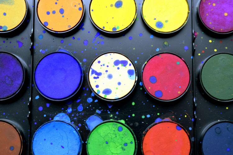 art color palette colorful colors colourful colours paint palette watercolor wallpaper