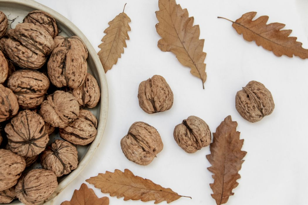 bowl close-up confection delicious diet dry dry leaves epicure fall food fruits health healthy nutrition nuts still life sweet tasty walnut wallpaper
