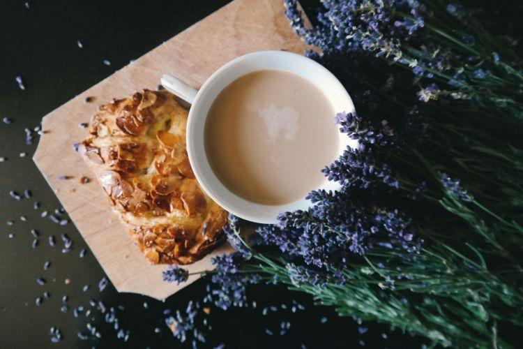 beverage coffee cup drink flora flowers food mug pastry plate wallpaper