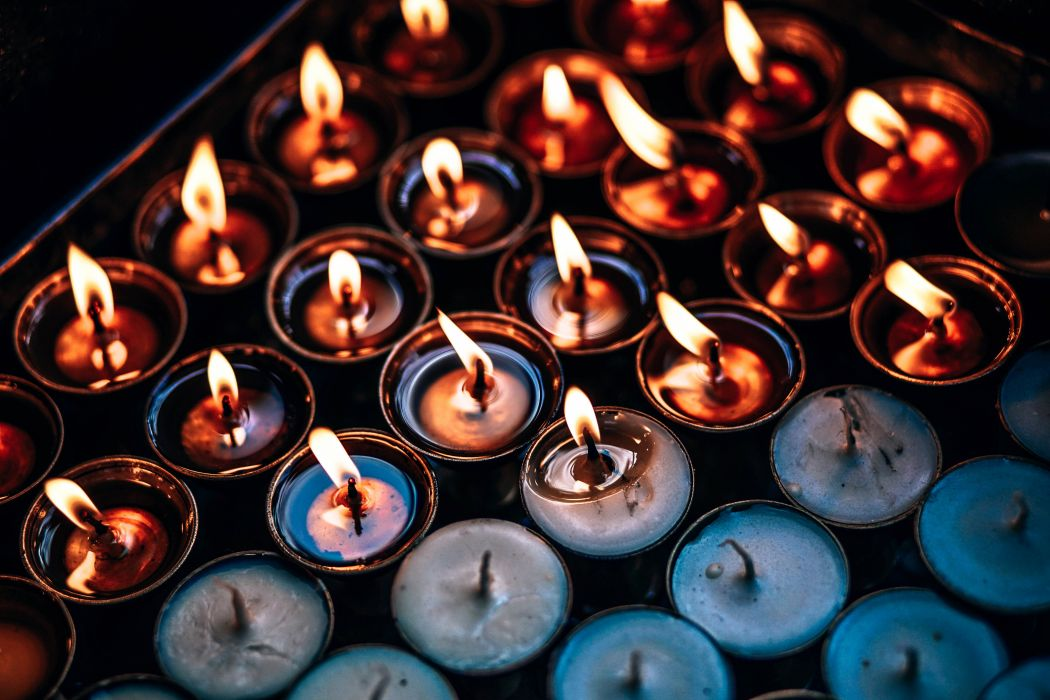 bright burning burnt candlelight candles dark decoration design fire flame heat hot luminescence warmly wallpaper