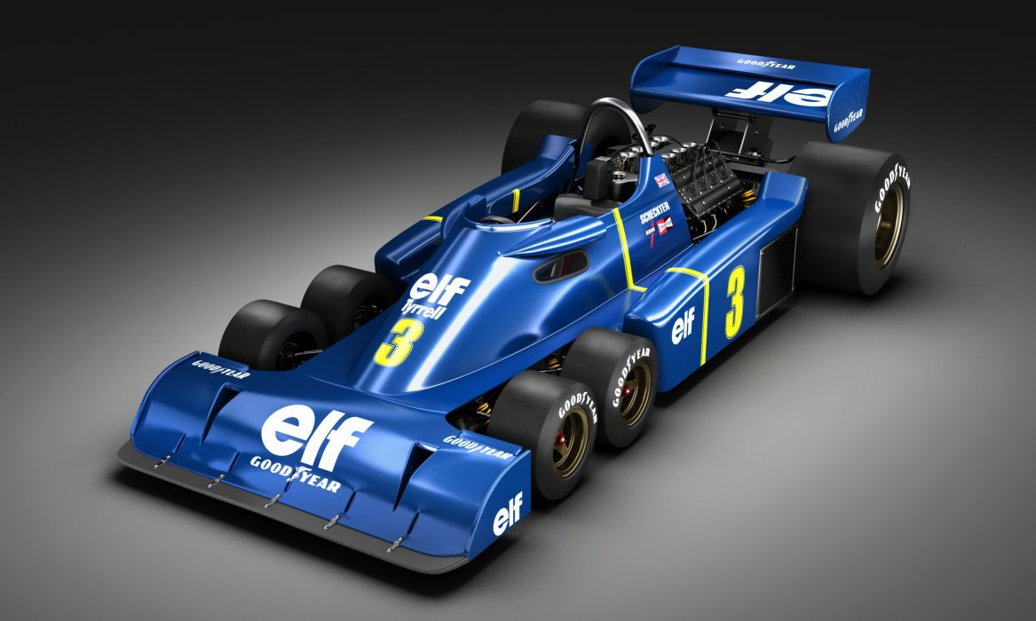 Formula1 1976 Tyrrell P34 wallpaper