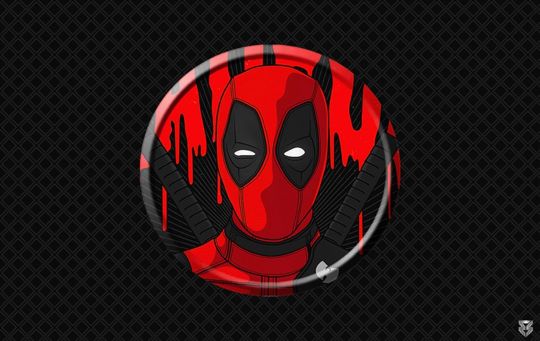 Deadpool Disc wallpaper