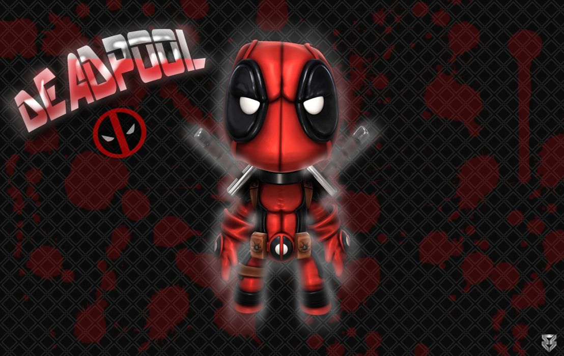 Deadpool Chibi 001 wallpaper