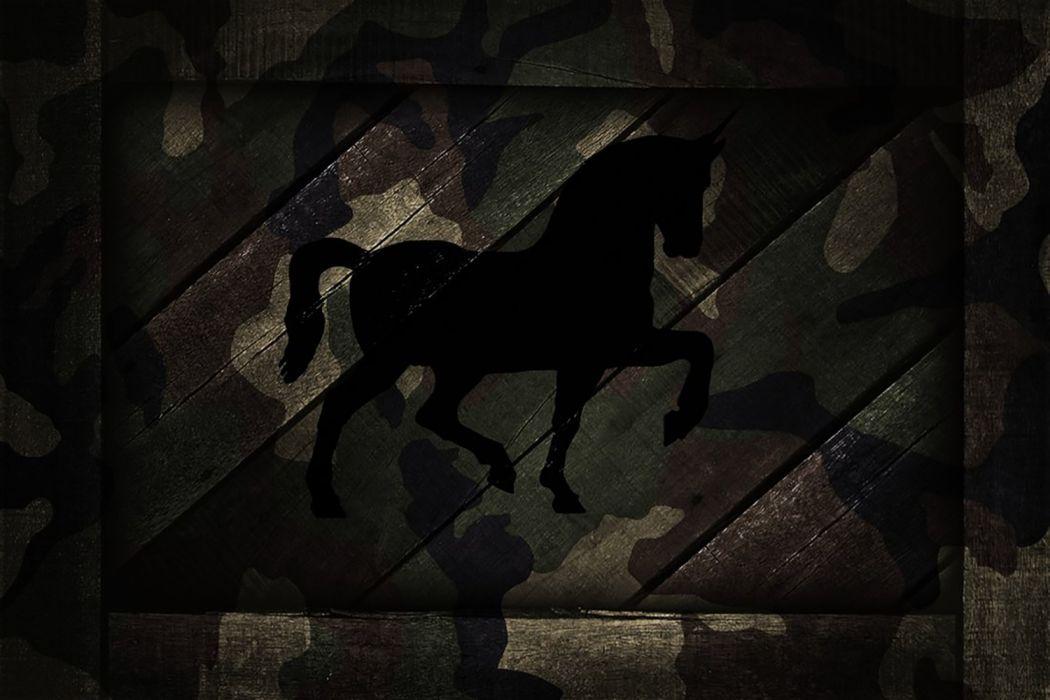 Unicorn Camo wallpaper