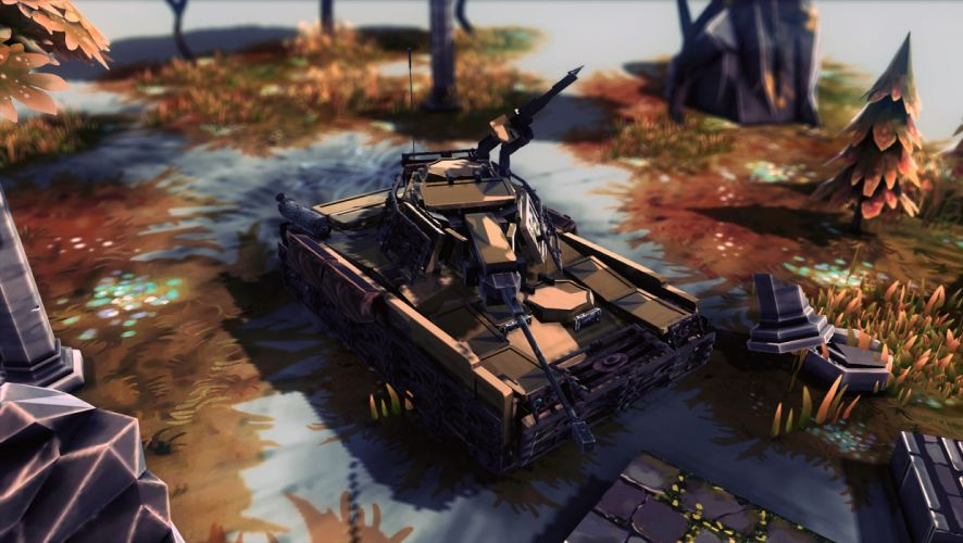 Futuristic Tank wallpaper