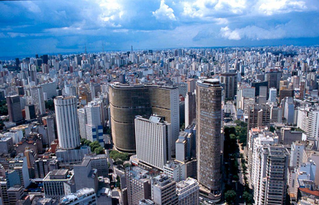 sao paulo brasil edificios ciudad sud america wallpaper