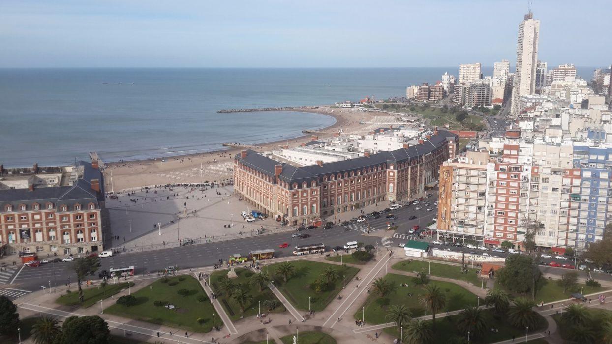 mar del plata argentina ciudad sur america wallpaper