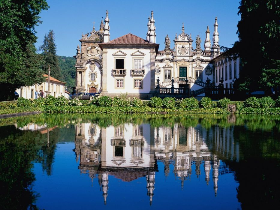 Palace of Mateus Tra os Montes Portugal wallpaper