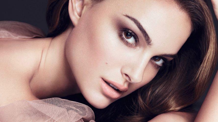 Face sensuality-sensual-sexy-woman-girl-Natelie Portman-actress-celebrity-israeli wallpaper