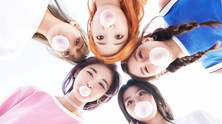 Face-woman-girl-twice-tzuyu-sana-chaeyoung-dahyun-jihyo-bubble-gum wallpaper