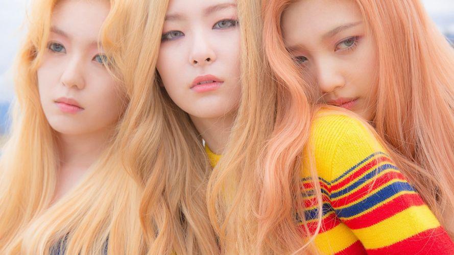 Face woman-girl-Red Velvet-Irene Seulgi-Joy-k pop-korean-blonde wallpaper