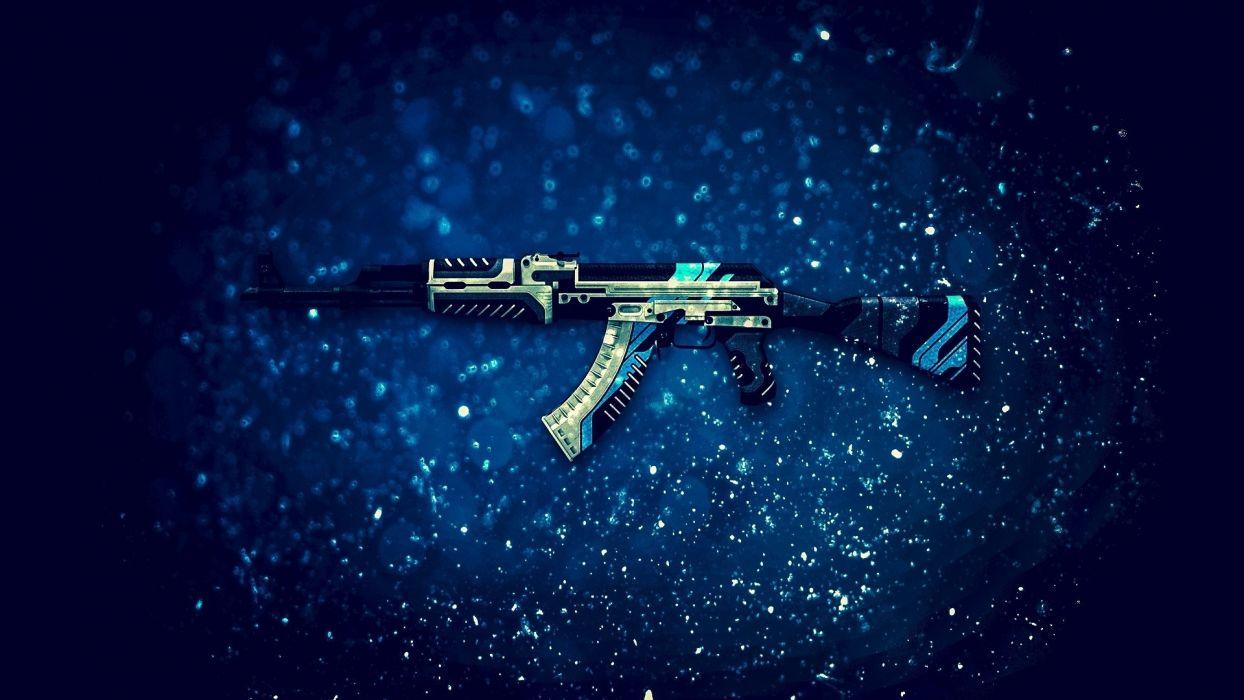 Guns ak 47-vulcan-csgo wallpaper
