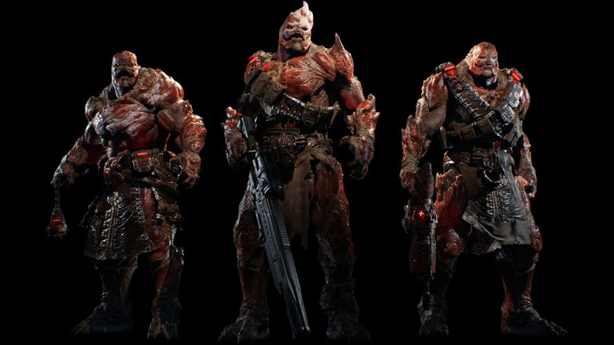Game gears of war 4-sci fi-drone wallpaper