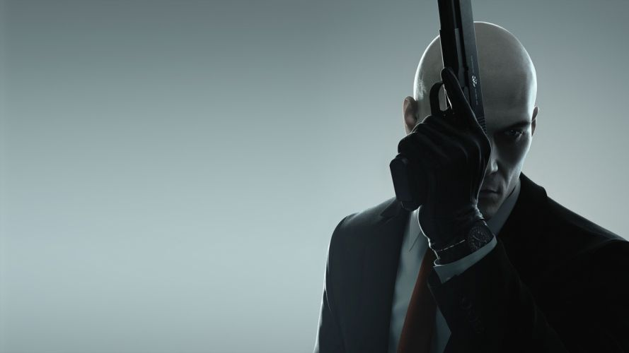 Game hitman-agent 47-gun-pistol wallpaper