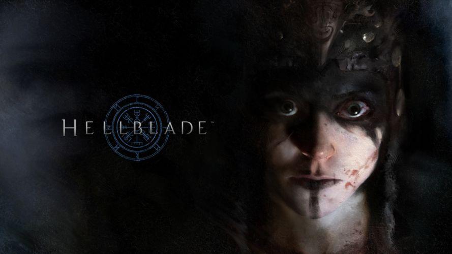 Game hellblade-senua-sacrifice-face wallpaper