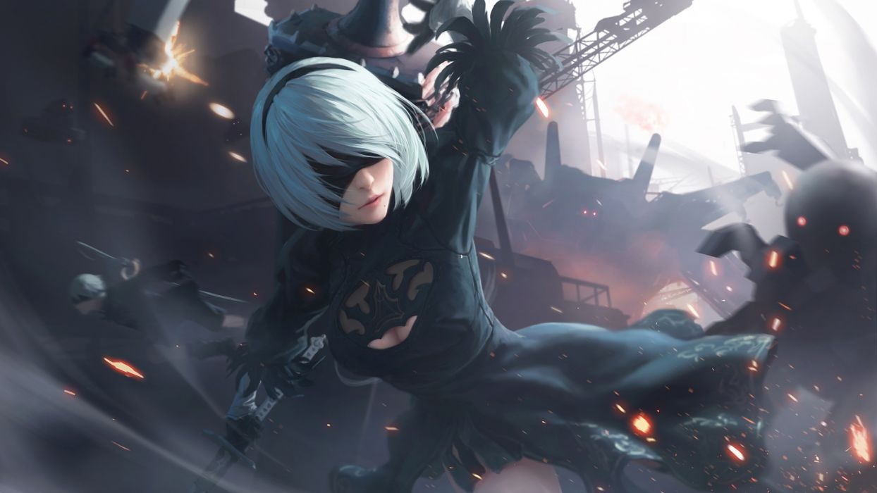 30+ Nier Automata Background  Pictures