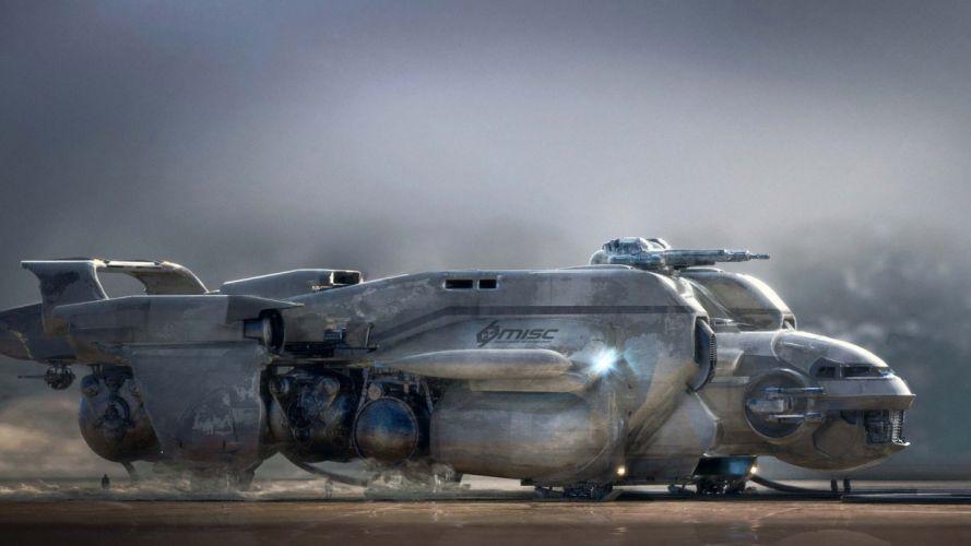 Game star-citizen-art-spacecraft- wallpaper