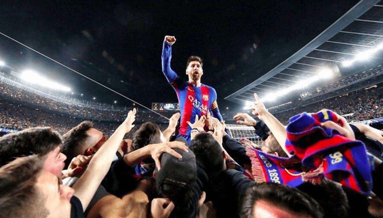 leo messi futbolista argentino f c barcelona celebracion gol wallpaper
