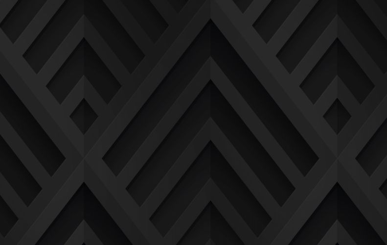 Black Deco II wallpaper