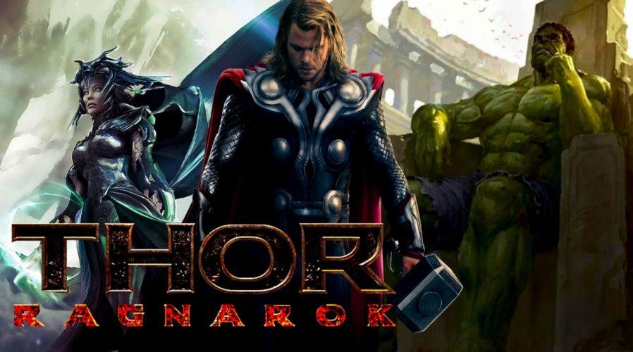 thor ragnarok pelicula superheroes aventuras wallpaper