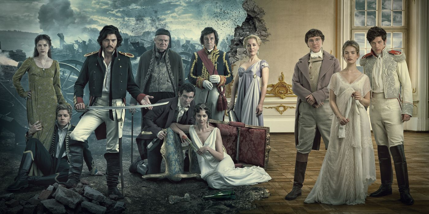 guerra y paz serie tv drama wallpaper