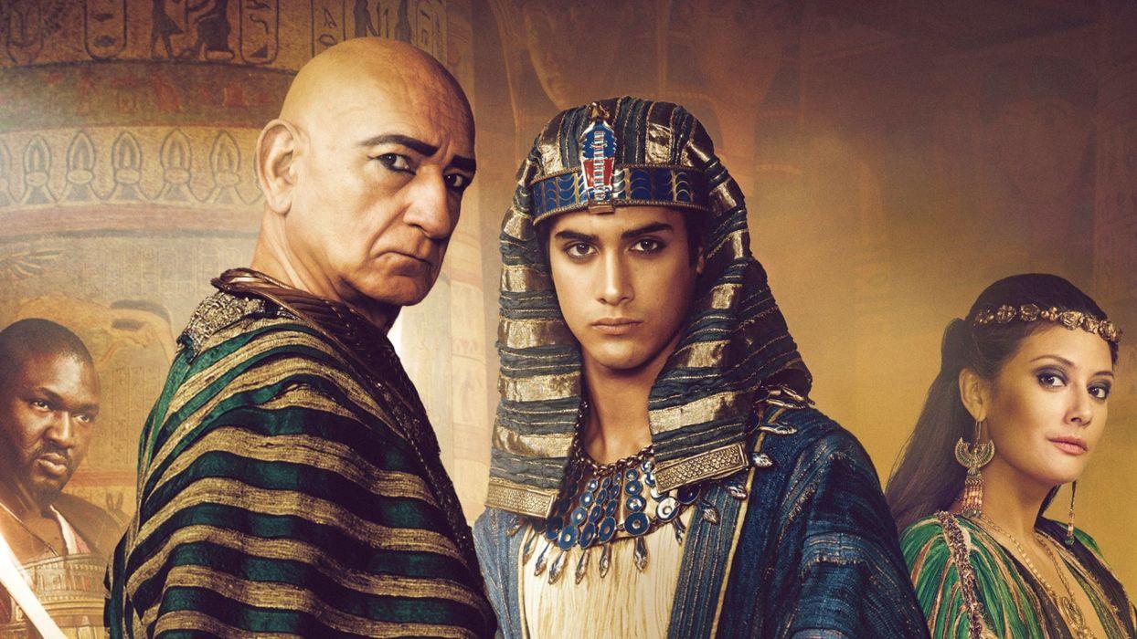 tutankamon serie tv historica wallpaper