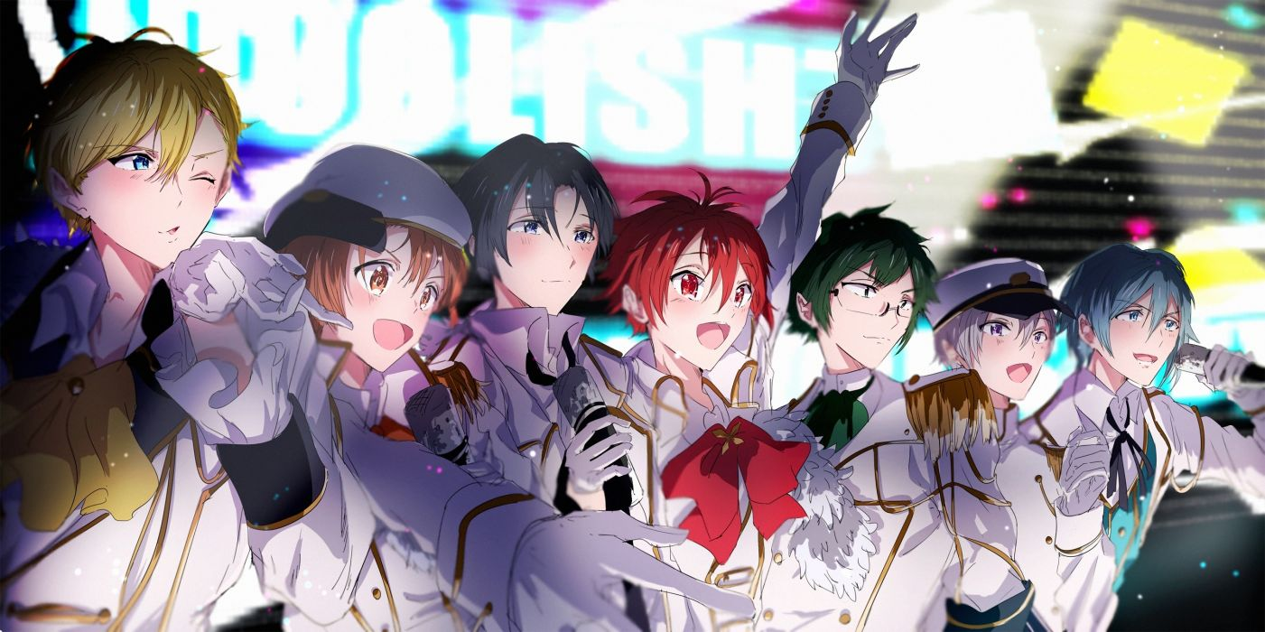 idolish7 izumi iori osaka sougo nanase riku shoujo anime boys wallpaper
