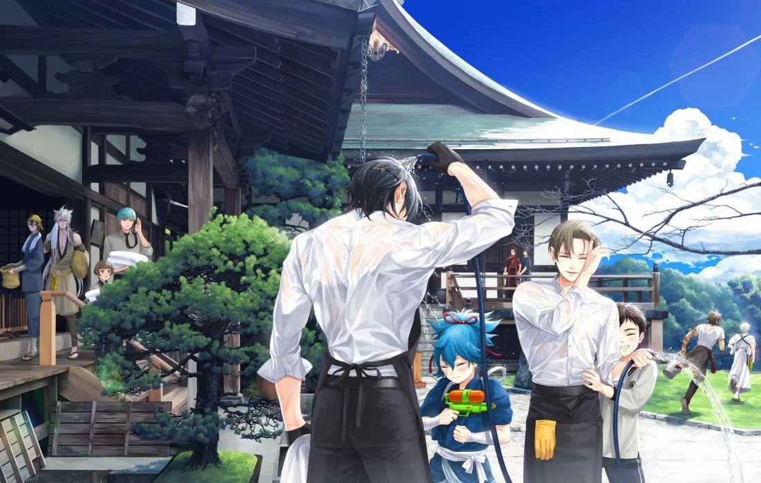 touken ranbu ichigo hitofuri kashuu kiyomitsu anime boys shoujo wallpaper