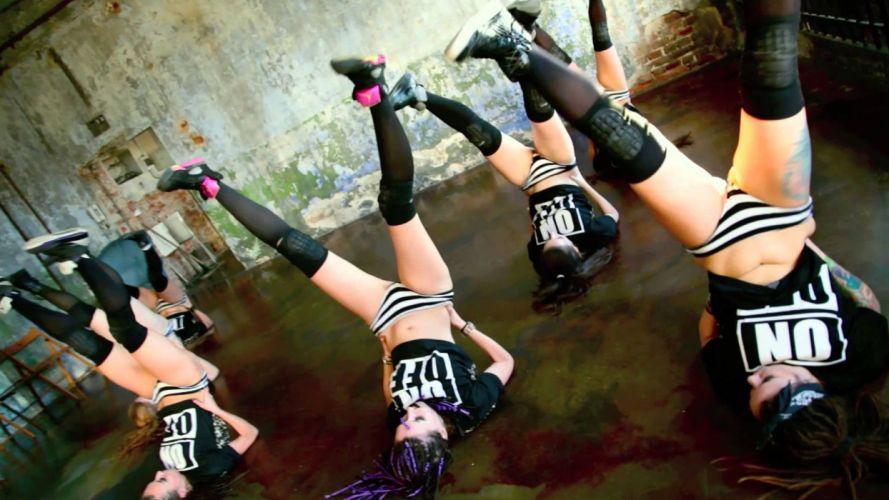 Sensuality-sensual-sexy-woman-girl-style-Young Jit-dance-studio-twerk-team TAG -action girls-YouTube wallpaper