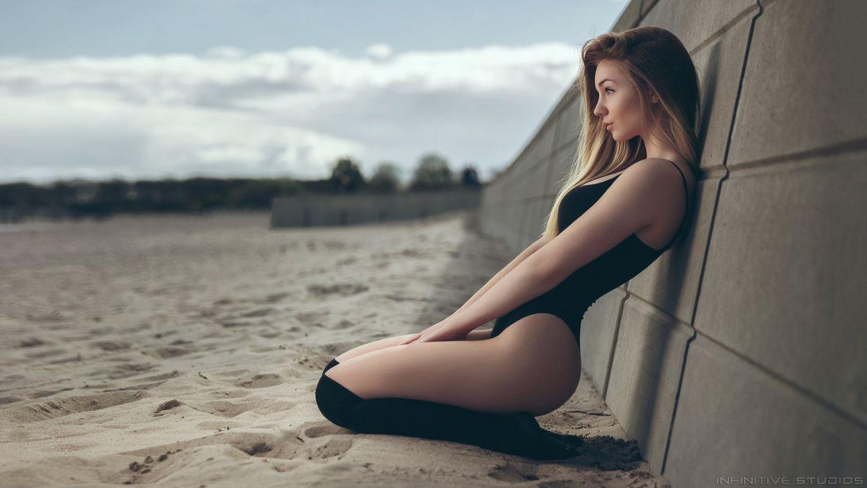 beautiful girl female women woman sexy babe model adult blonde bikini g 1920x1080 wallpaper