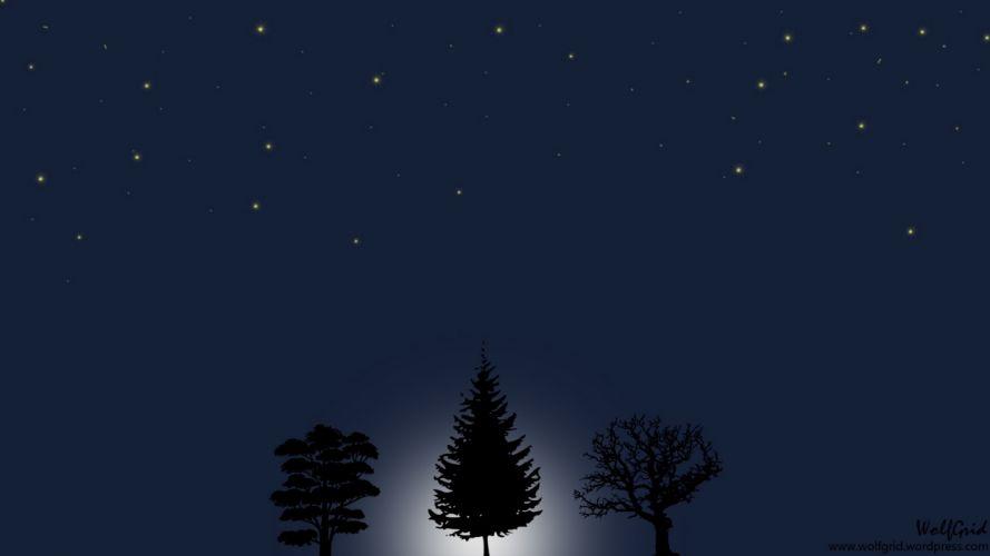 Moon Night 1 wallpaper