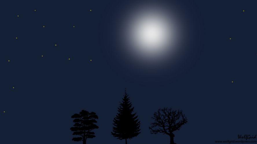 Moon Night 2 wallpaper