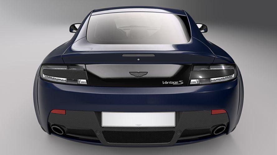 Aston Martin V8 Vantage S Red Bull Racing wallpaper