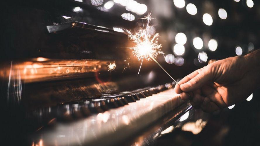 sparkle piano instrument music wallpaper