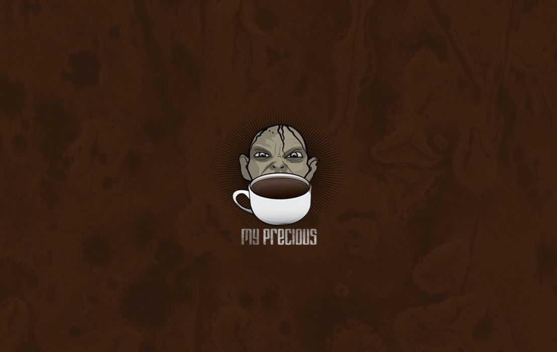 My Precious Coffee wallpaper