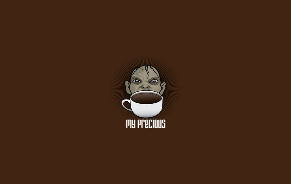 Coffee - My Precious wallpaper
