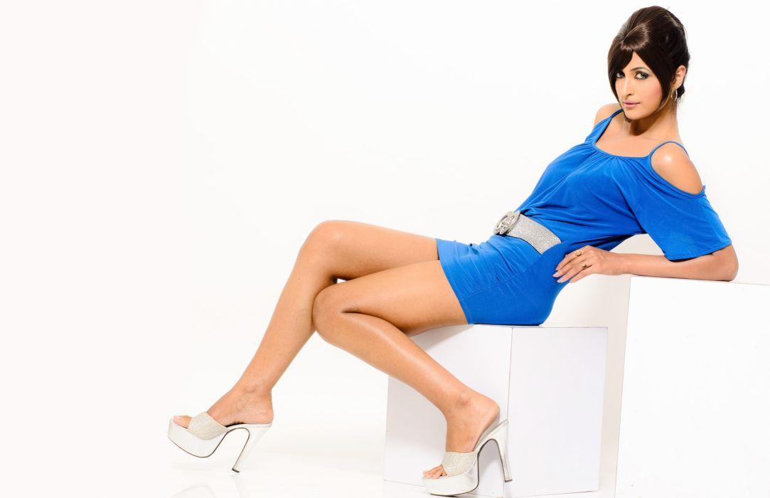 Jisha Kunjumon bollywood actress celebrity model girl beautiful brunette pretty cute beauty sexy hot pose face eyes hair lips smile figure indian wallpaper