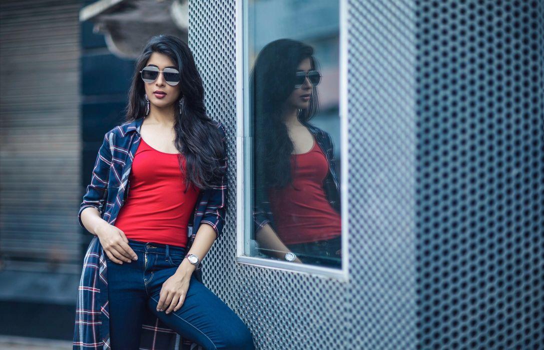 Nikita-Sharma bollywood actress celebrity model girl beautiful brunette pretty cute beauty sexy hot pose face eyes hair lips smile figure indian wallpaper