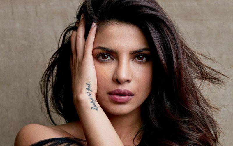 priyanka chopra bollywood actress celebrity model girl beautiful brunette pretty cute beauty sexy hot pose face eyes hair lips smile figure indian wallpaper
