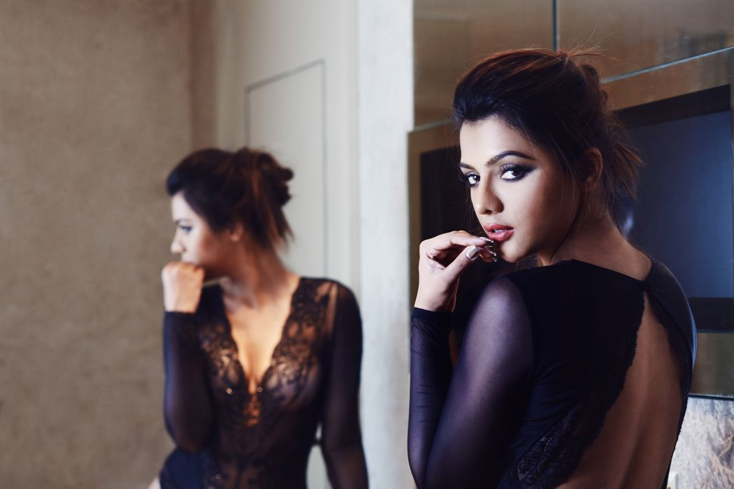 Ruhi-Singh bollywood actress celebrity model girl beautiful brunette pretty cute beauty sexy hot pose face eyes hair lips smile figure indian wallpaper