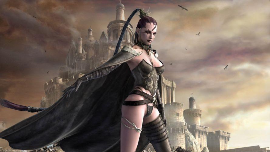 fantasia mujer guerrera wallpaper