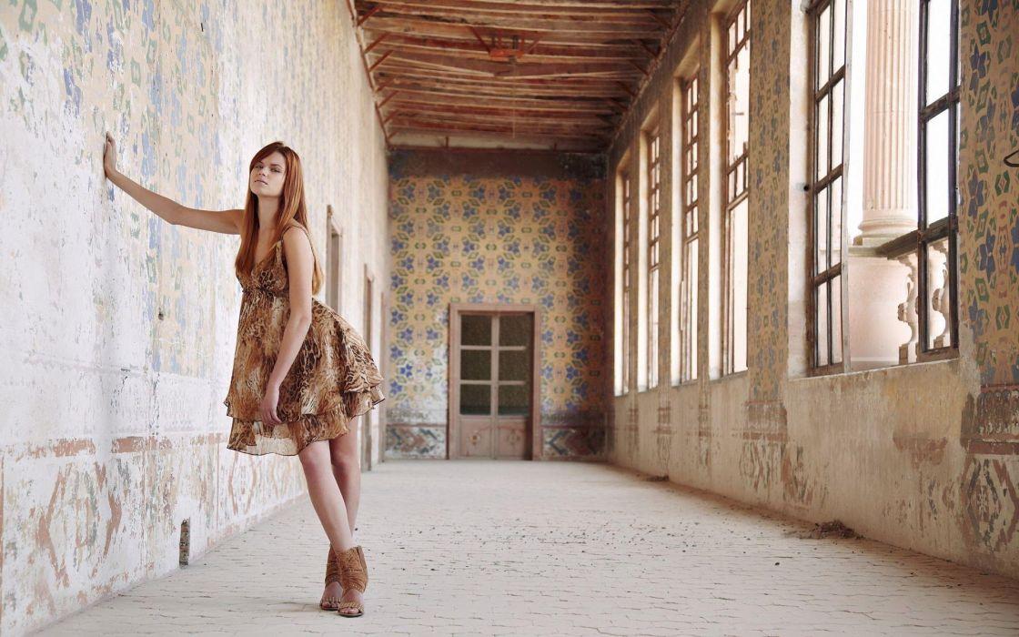 Photography-sensuality-sensual-sexy-woman-girl-stylish-legs-dress-windows wallpaper
