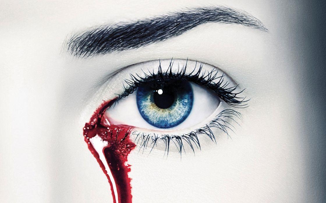 Photography-woman-girl-true-love-blooding-eye wallpaper
