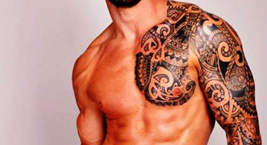 hombre hombro pecho tatuado wallpaper