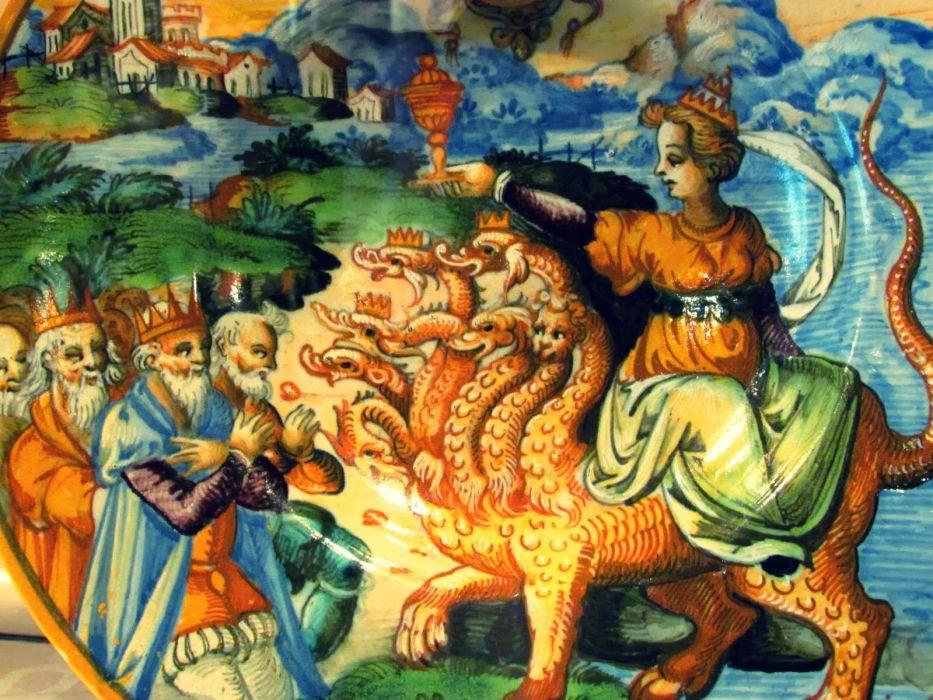 arte pintura san jorge dragon wallpaper