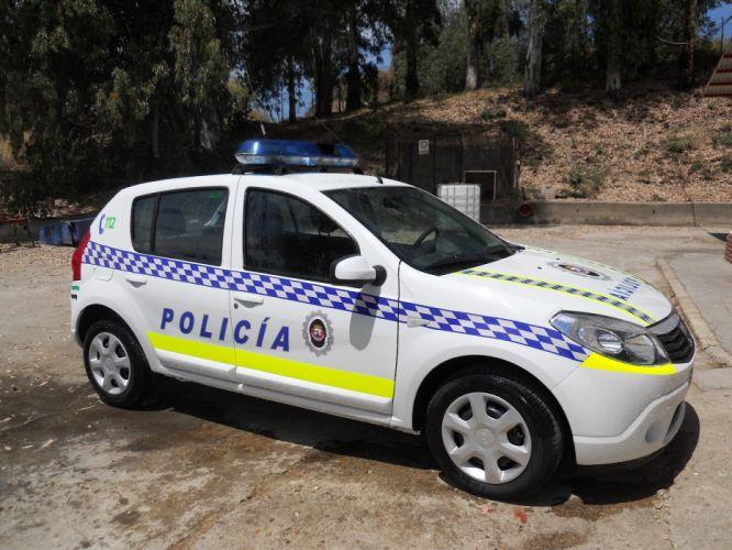 coche policia local espay wallpaper
