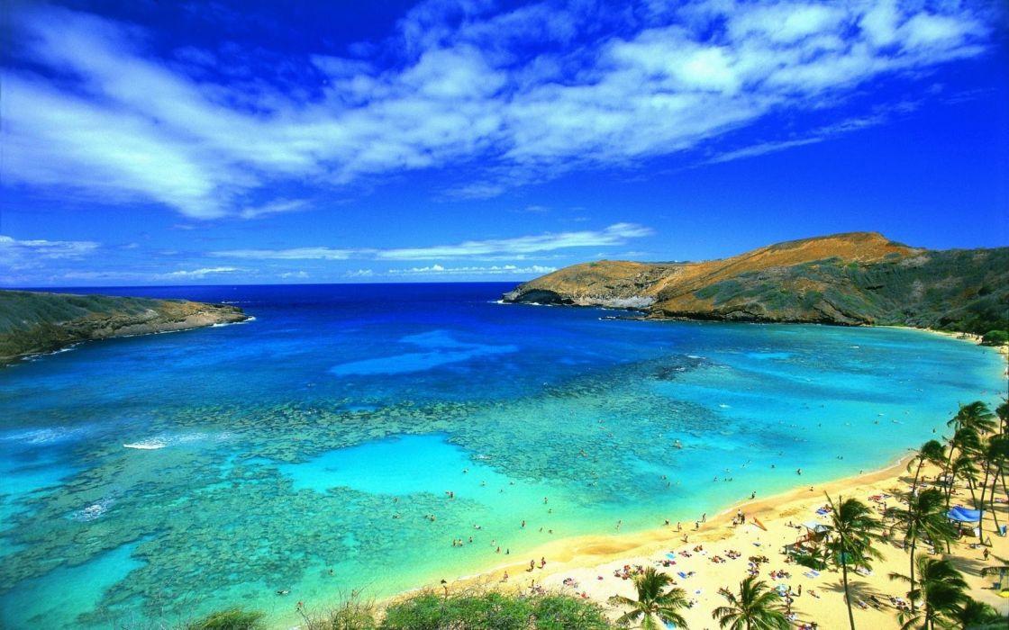 Beautiful Beach Landscape Wallpaper 1600x1000 1091181